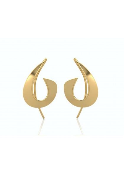 GOLDEN TRUNK EARRINGS