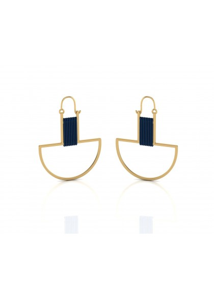 GOLDEN BOAT EARRINGS