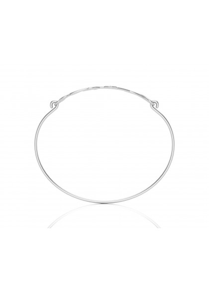 CREEPER WHITE GOLD BRACELET