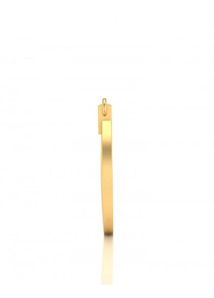 GOLD LOCK EARRINGS