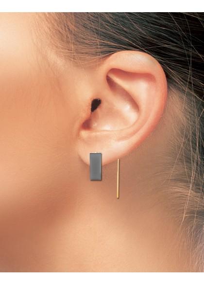BLACK BOARD EARRINGS