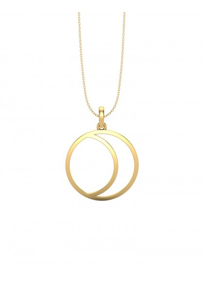 CIRCLE OF TRUST GOLD PENDANT