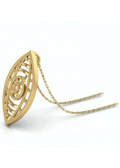 CHAKRA GOLD PENDANT