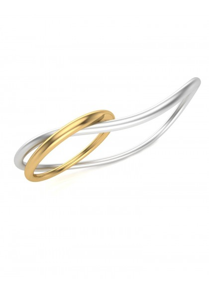 TWIN FINGER GOLD RING