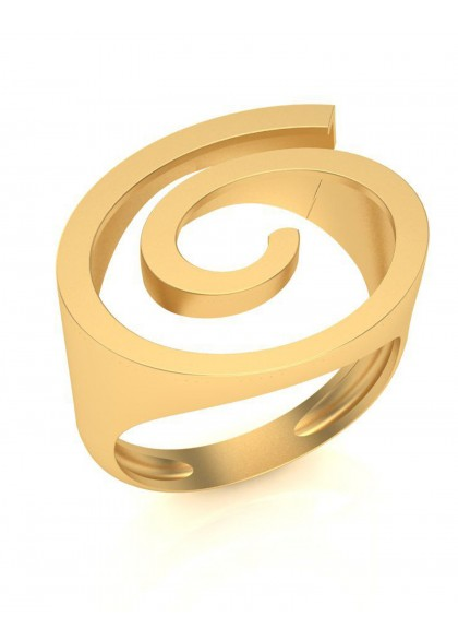 GOLDEN RIPPLE RING