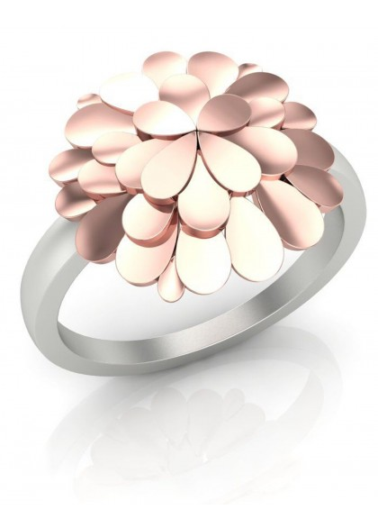 PINK CONEFLOWER RING