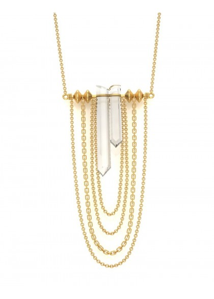 ARISTA  GOLD PENDANT