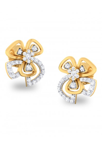 FIVE PETALS EARRING