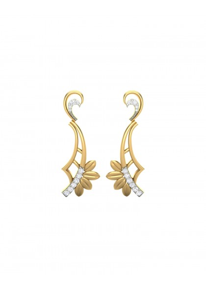TRINA DIAMOND EARRINGS