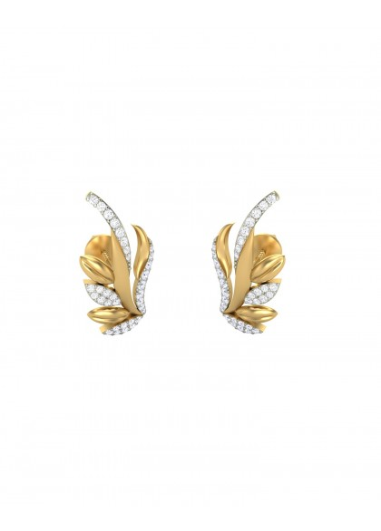 FLAMING STROKES EARRINGS