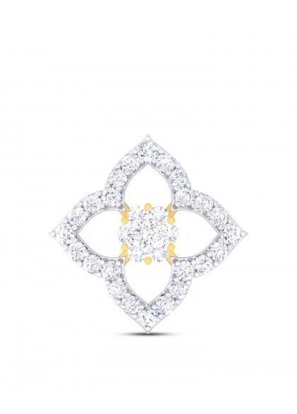 DIAMOND STUDDED FLOWER