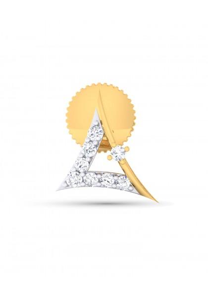 TRIANGLE DIAMOND STUD
