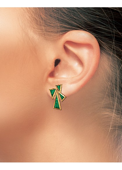 GREEN SPLENDOR EARRINGS