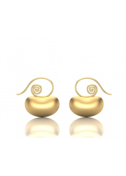 GOLDEN CASHEWS EARRINGS
