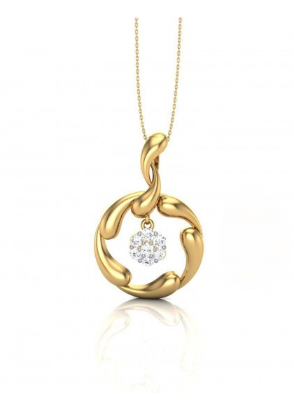 SOLITAIRE WORLD PENDANT