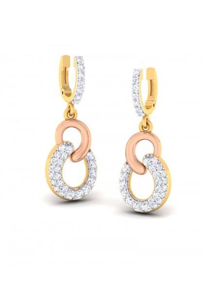 PINK RING EARRINGS