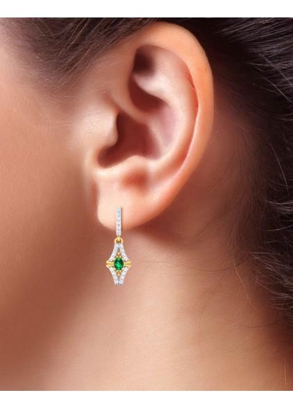 CALLISTA GREEN EARRINGS