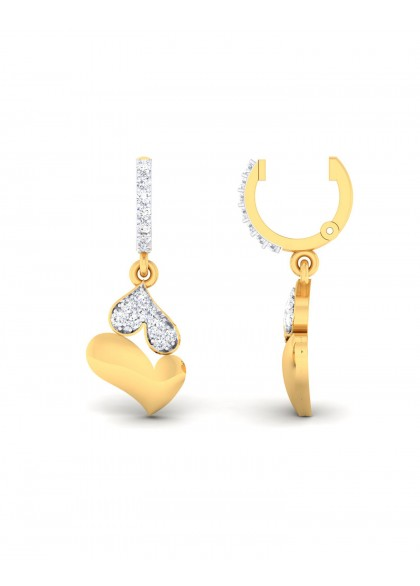 CONJOINT HEART EARRINGS