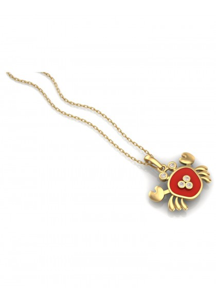 RED CRAB PENDANT