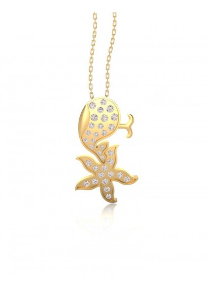 FISH STAR PENDANT