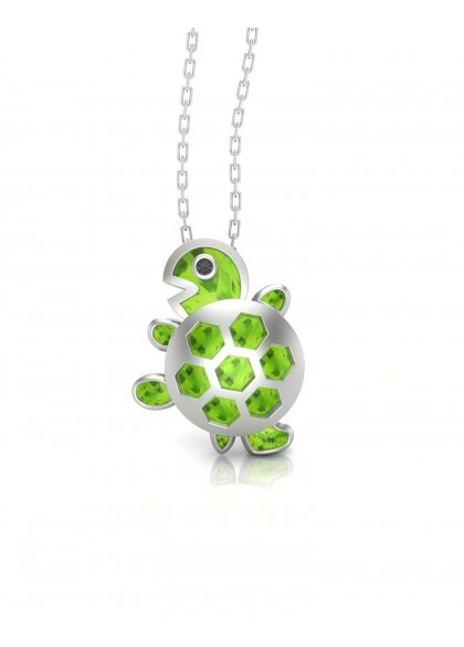 GREEN TURTLE PENDANT