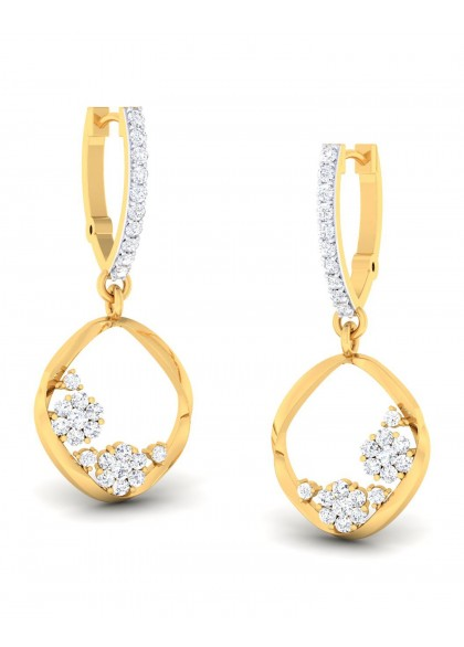 FLOATING DIAMONDS EARRINGS