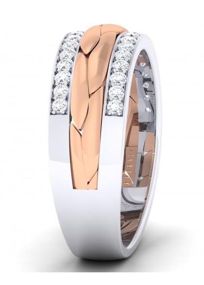TUBEROSE DIAMOND RING