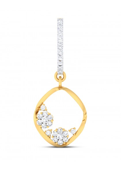 FLOATING DIAMONDS EARRINGS