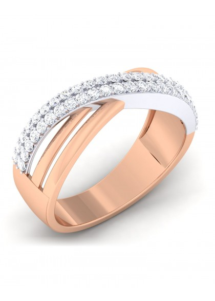 DOUBLE DELIGHT ROSE RING