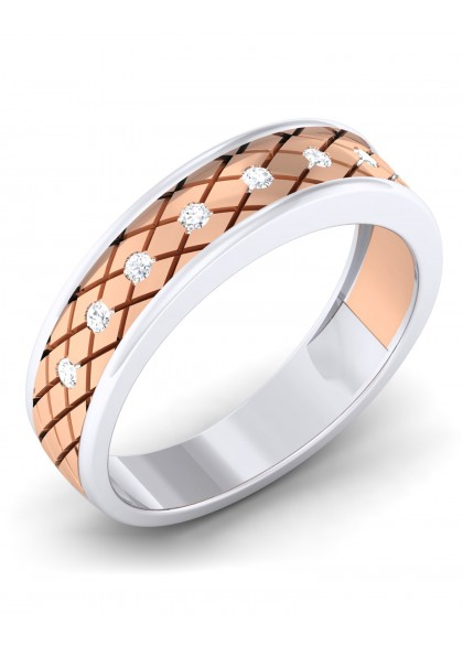 THE CHECKERED MEN'S RING