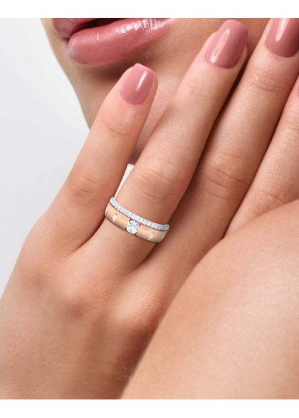 GOLDFINCH ROSE RING