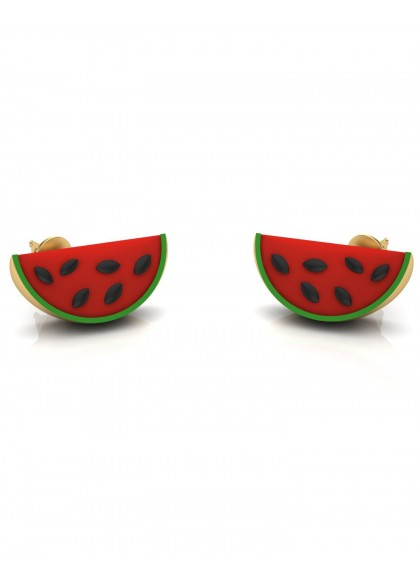 MELON SLICE EARRINGS