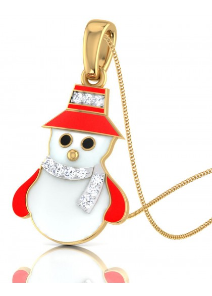 SNOW MAN PENDANT