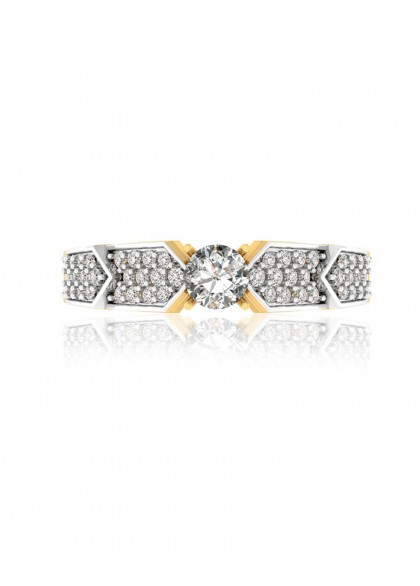 DIAMOND STEPS RING