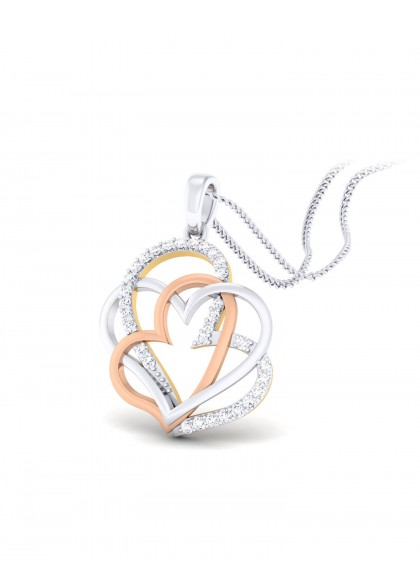 BLOOMING HEARTS PENDANT
