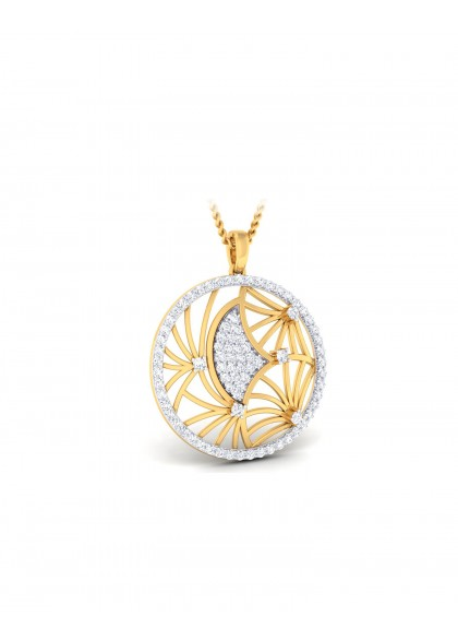DIAMOND WEB PENDANT