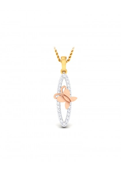 RG AND DIAMONDS PENDANT