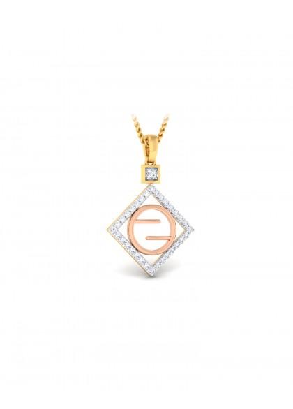 RG SQUARE DIAMOND PENDANT