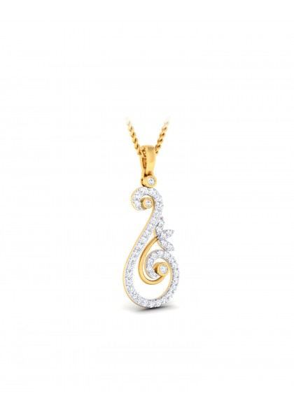 DIAMOND SWAN PENDANT