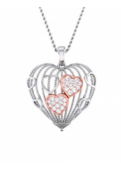 CAGE OF LOVE PENDANT