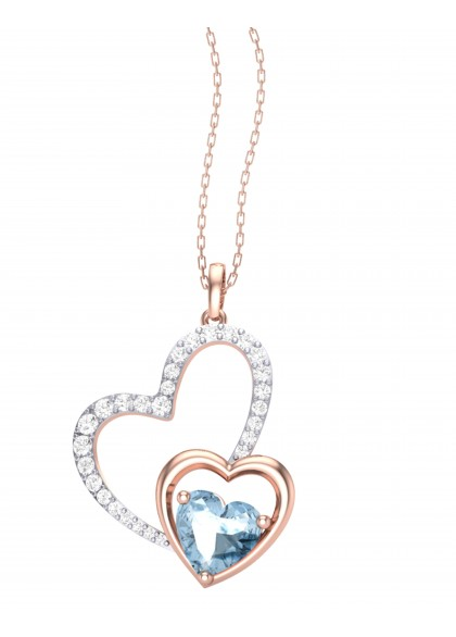BLUE LOVE PENDANT