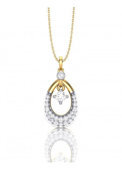 DIAMOND DROPLET PENDANT