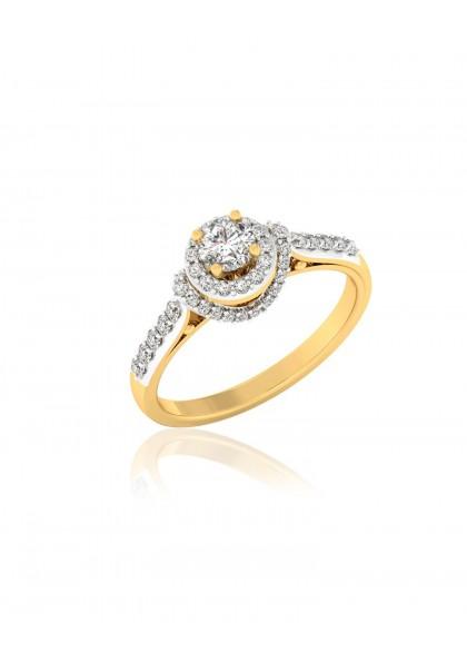 DIAMOND TOWER RING