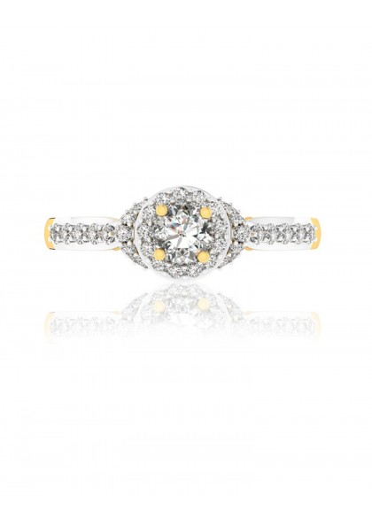 DIAMOND TOWER RING