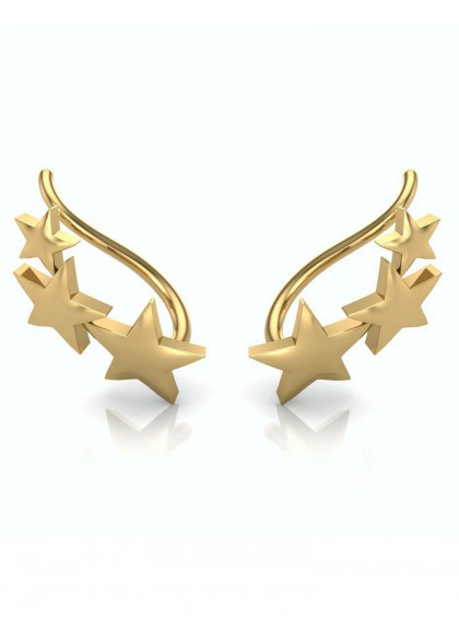 3 STARS EARRINGS