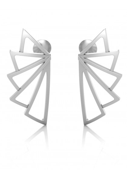 WHITE WINGED EARRINGS