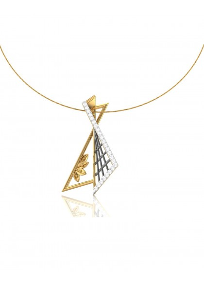 SEMI KITE SHAPED PENDANT
