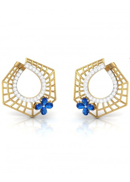 HEXA ASTER EARRINGS