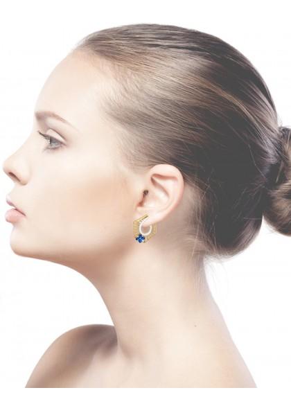 HEXA ASTER EARRINGS