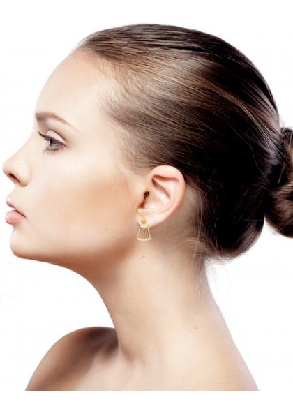 FANCY INFINITY EARRINGS